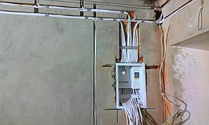 Электромонтажные работы в доме