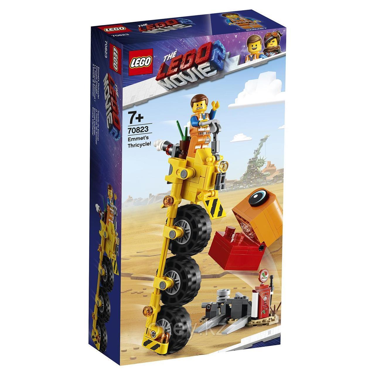 LEGO Movie: Трехколёсный велосипед Эммета 70823