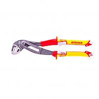 Клещи переставные, диэлектрические рукоятки до 1000 В, 240 мм// Gross