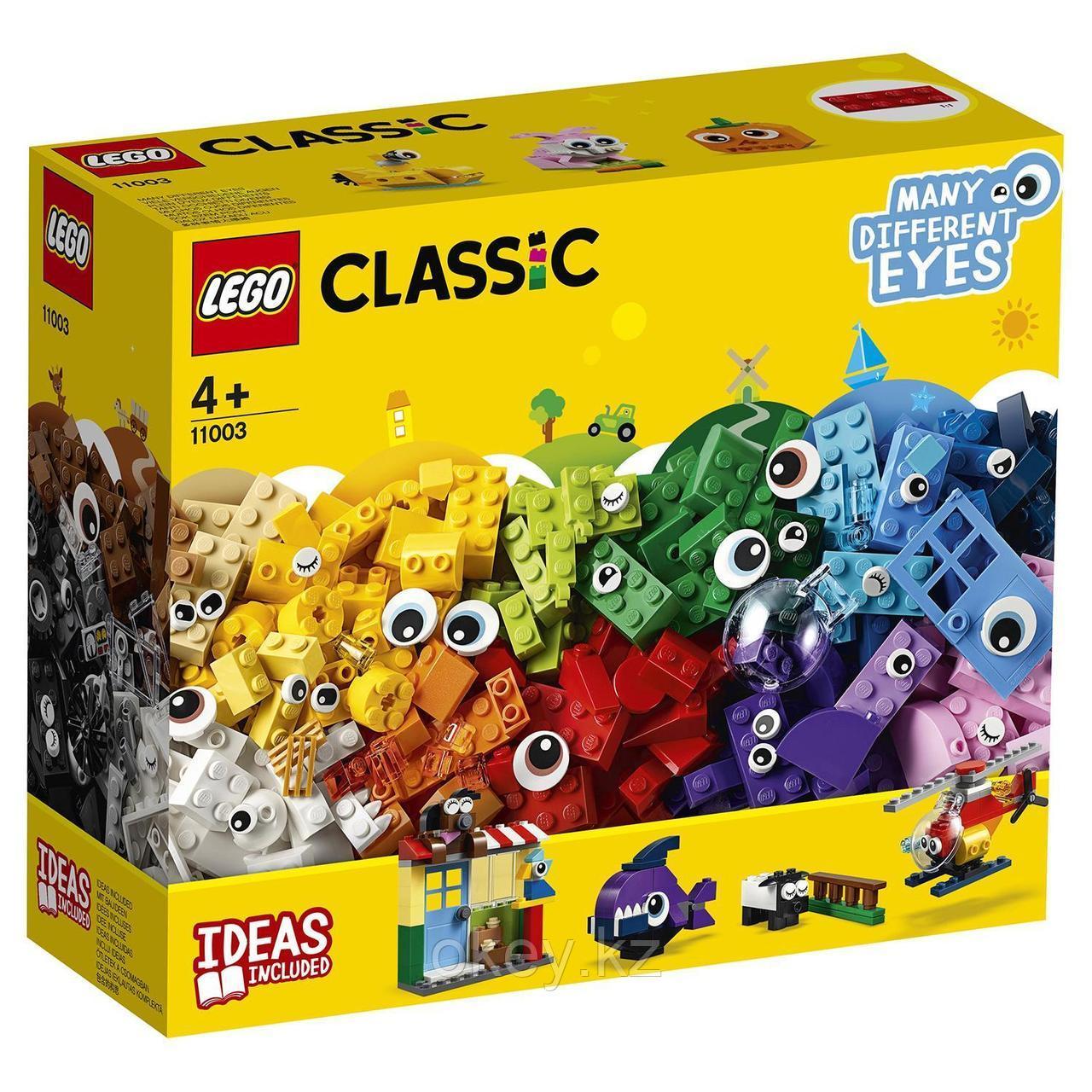 LEGO Classic: Кубики и глазки 11003