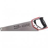Ножовка по дереву, 400 мм, каленый зуб 3D, 11-12 TPI , трехкомпонентная рукоятка, PRO// Matrix