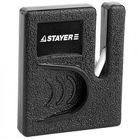 """Точилка Stayer """"MASTER"""", для ножей, компактная, керамическая рабочая часть"""