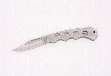 Нож STAYER складной, цельнометаллическая облегченная рукоятка, большой