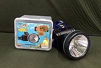 Оригинальный налобный фонарь горит до 9 суток, доставка