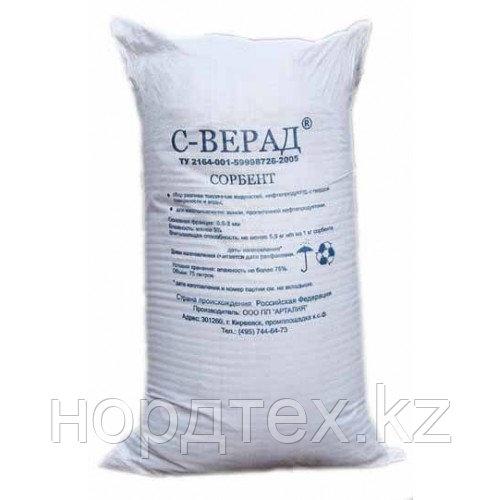 Сорбент С-ВЕРАД для сбора разливов упаковка 9 кг