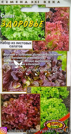 "Семена пакетированные Euro Extra. Салат ""Здоровье"", фото 2"