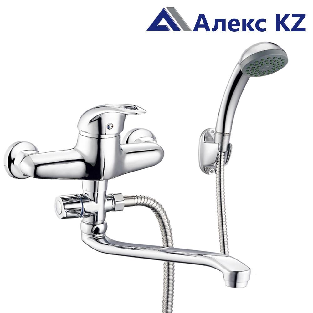 Смеситель  для ванны, одноручный , с поворотным изливом ZEGOR NHK6-C048