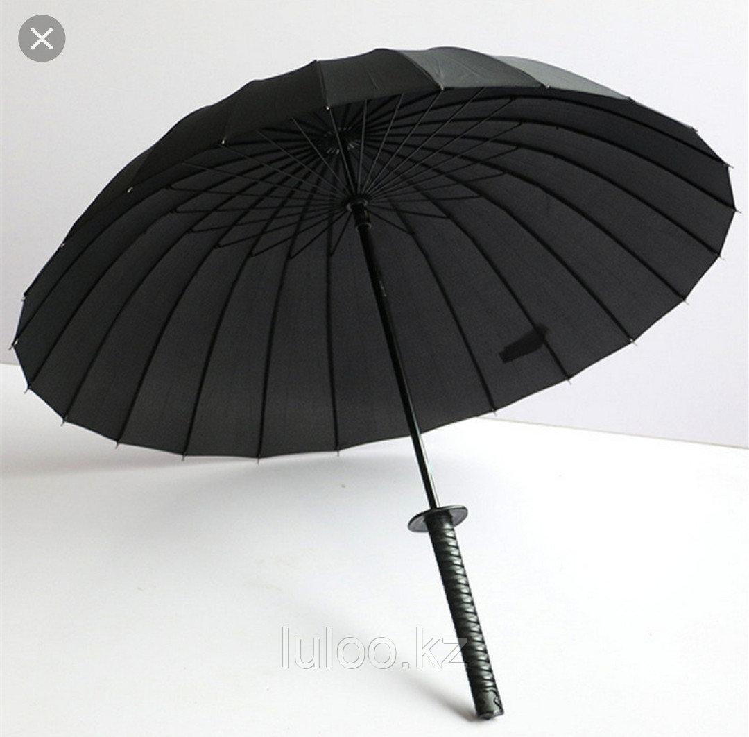 """Оригинальный зонт """"Меч"""" (зонт Катана), 16 спиц. - фото 2"""