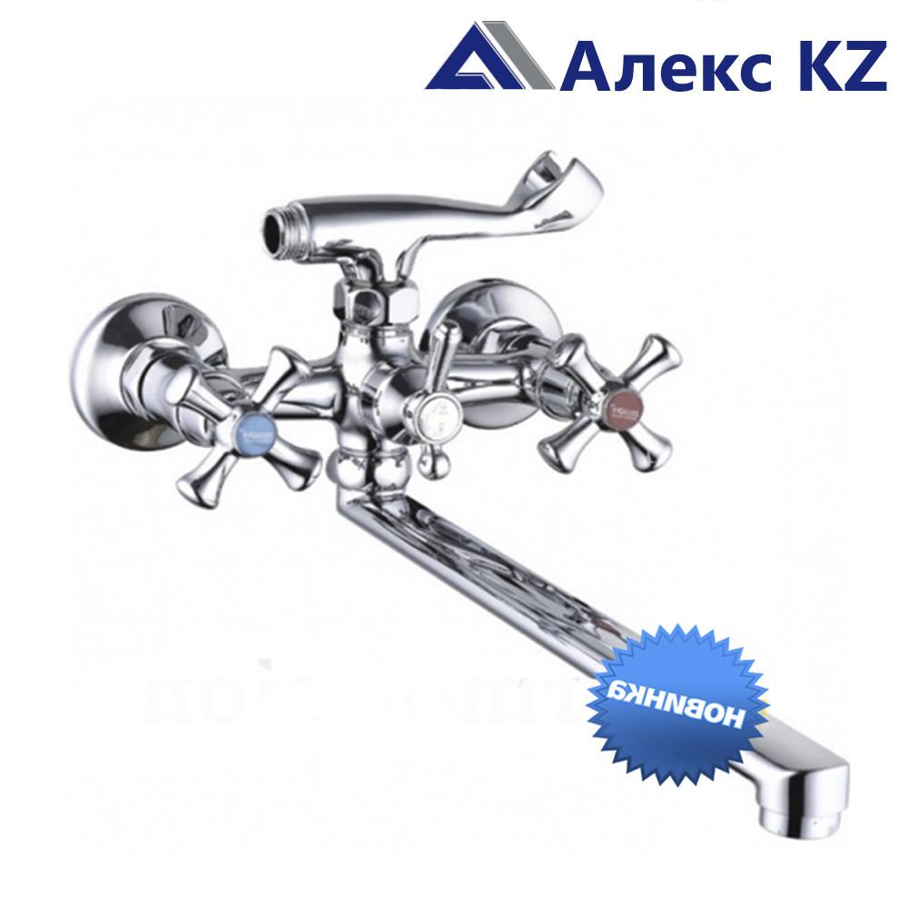 Смеситель для ванны, двуручный ZEGOR DMX7-В605