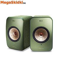 Беспроводная активная полочная акустика KEF LSX зеленый, фото 1