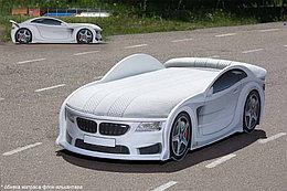 Кровать машина детская БМВ-М UNO white