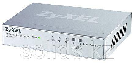 Коммутатор Zyxel ES-105A v3 5 портов 100 Мбит/с настольный, металлический корпус