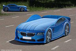 Кровать машина детская БМВ-М UNO blue