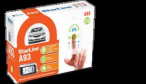 StarLine A93 2CAN-2LIN GSM ECO, 1 пульт, модуль GSM в комплекте