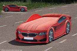 Кровать машина детская БМВ-М UNO red
