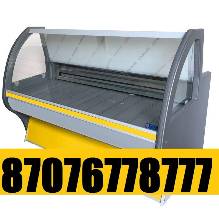 Витринный холодильник Холодильная витрина Асем 1,5м 0+5С