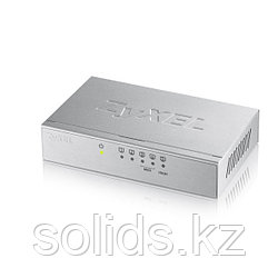 Коммутатор Zyxel  5 портов 1000 Мбит/с настольный металлический корпус