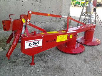 Косилка роторная Wirax Z-069/1 захват 1,35м, фото 2