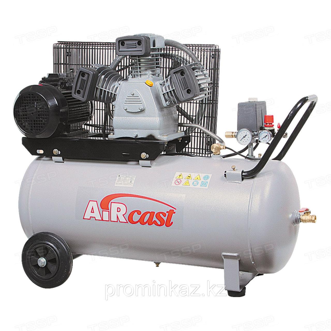 Установка компрессорная СБ4/С-200.LB40, 10 атм, 440л/мин, 200 л,  380В,  3,0 кВт,  1460х640х1150 мм, вес145кг