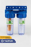 Фильтр для предворительной очистки воды (Китай) Двойной