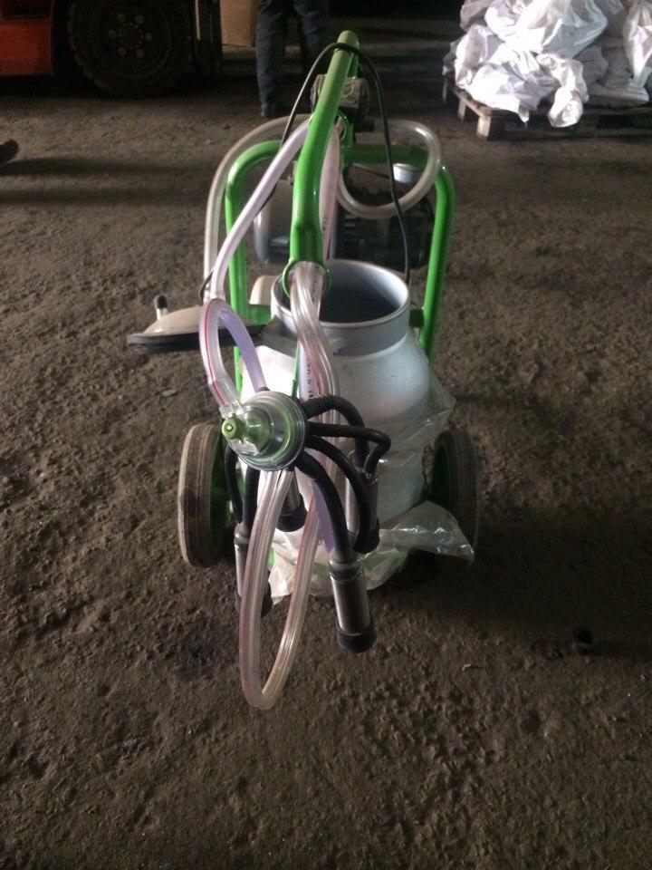 Турецкий доильный аппарат Agrolead 1 бидон 1 пульсатор