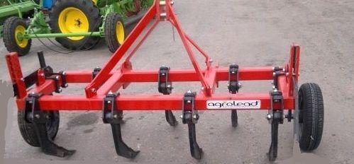 Плуг чизельный 1,25м б/катка (5 стоек) Agrolead, фото 2