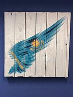 Картина «Флаг Казахстана» 60×60 см