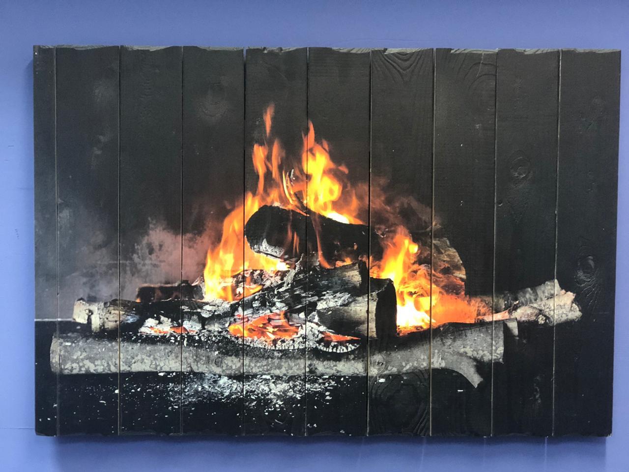 Картина «Костёр» 90×60 см
