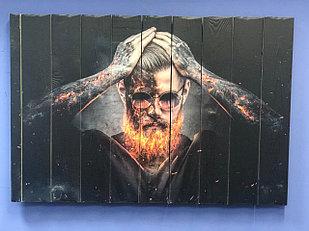 Картина «Огненная борода» 90×60 см