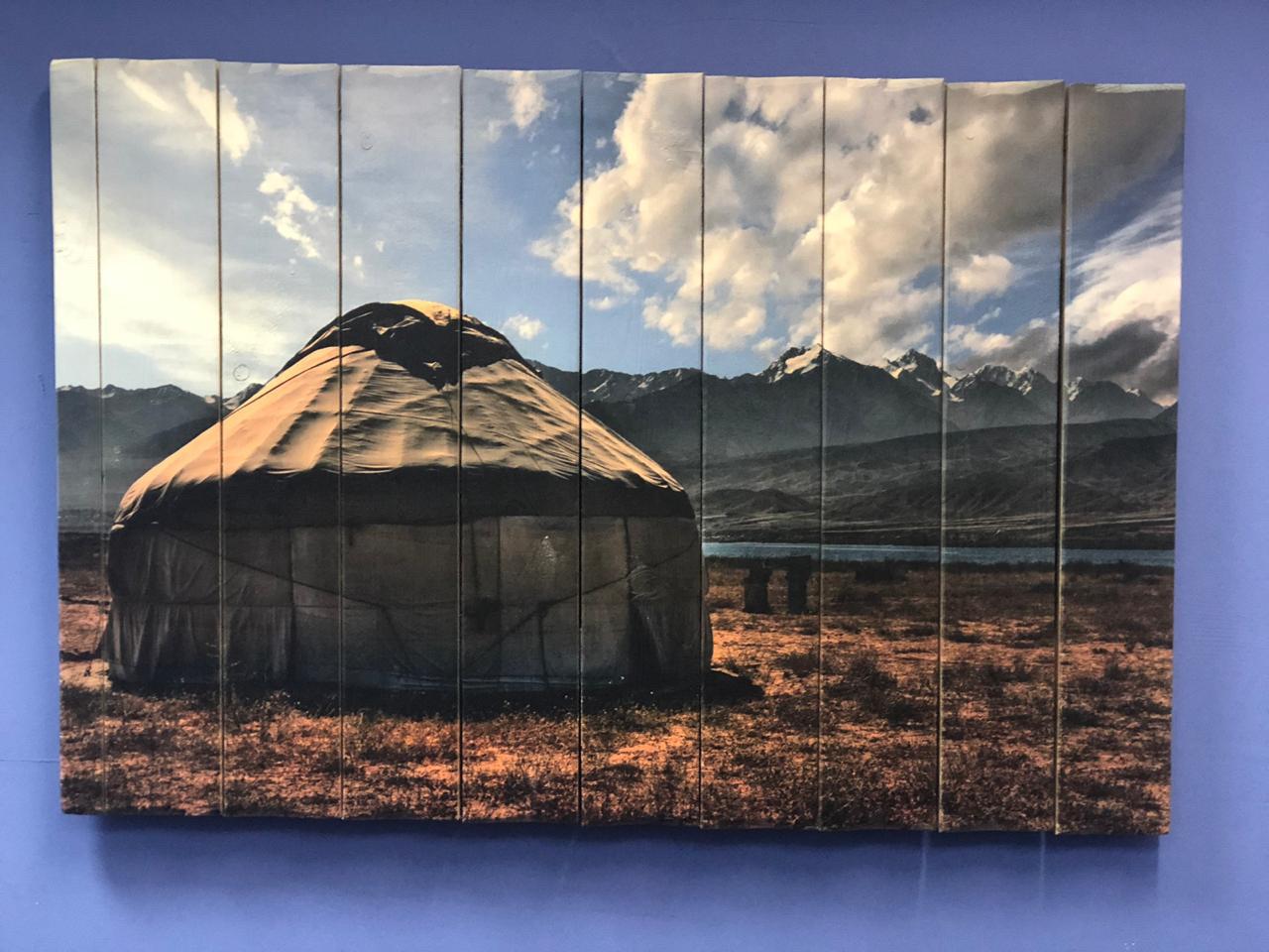 Картина «Юрта» 90×60 см