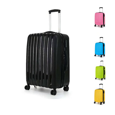 Пластиковый чемодан на колесах Hippo 78 л
