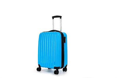Пластиковый дорожный чемодан Hippo 45 л Синий