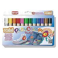 Маркеры по ткани Play Color Pocket Textil