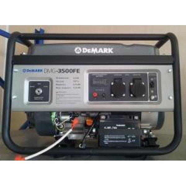 Бензиновый генератор - DEMARK - DMG 3500 F (3.0 кВт, 230 В, ручной старт, бак 15 л)