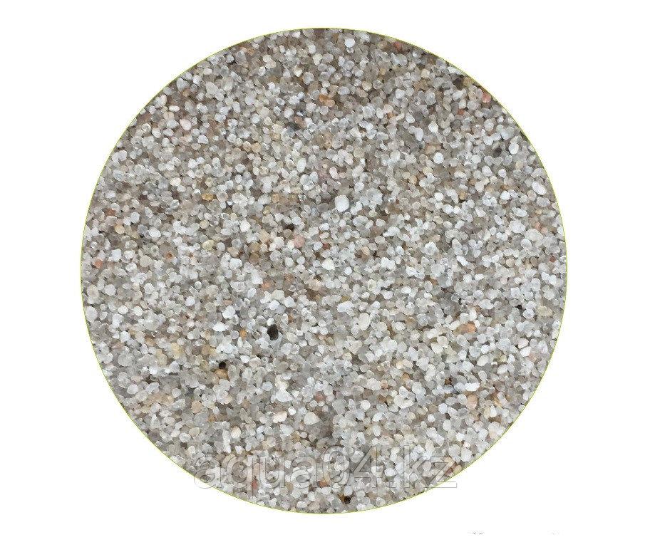Кварцевый грунт «Куба-2» окатанный 1,0-2,0 мм