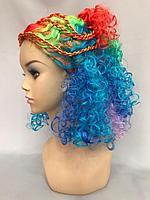 Детский разноцветный парик