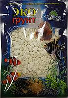 Мрамор окатанный Белое море 5-10 мм