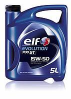 Моторное масло Elf Evolution 700 ST 15W-50 5литров