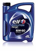 Моторное масло Elf Evolution 700 ST 15W-50 4литра