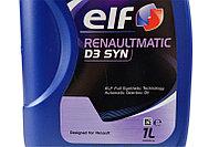 Трансмиссионное масло ELF RENAULTMATIK D3 SYN 1литр