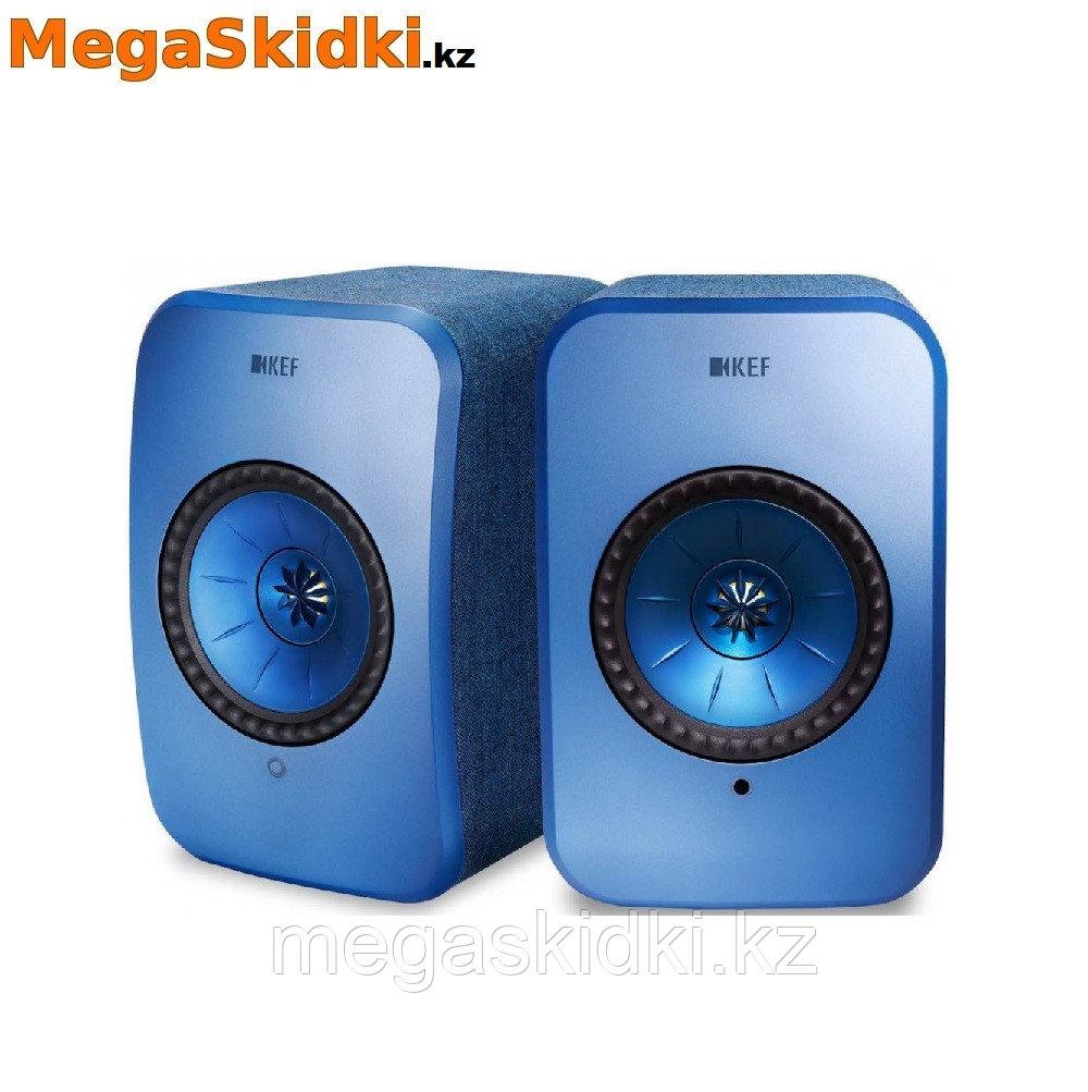 Беспроводная активная полочная акустика KEF LSX голубой