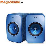 Беспроводная активная полочная акустика KEF LSX голубой, фото 1