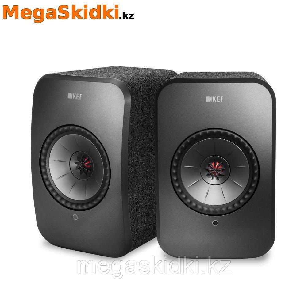 Беспроводная активная полочная акустика KEF LSX черный