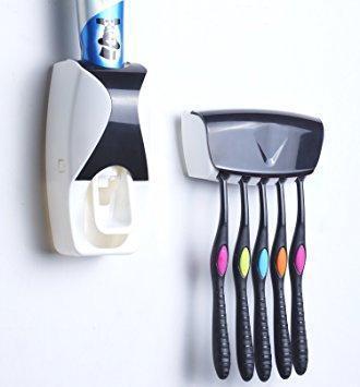 Дозатор для зубной пасты с держателем для щеток, фото 2