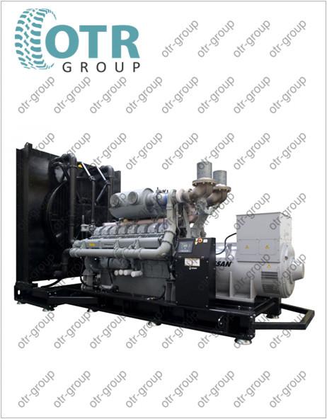 Запчасти на дизельный генератор Gesan DPA 900E