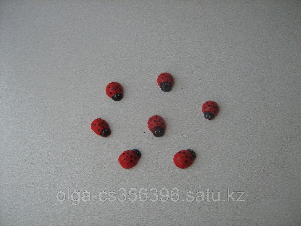 "Декор "" божья коровка"" дерево,2,5 мм .Creativ 678 - 1"