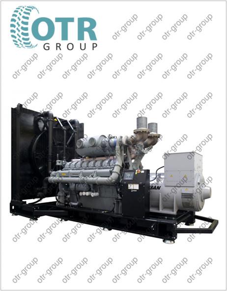Запчасти на дизельный генератор Gesan DPA 1100E