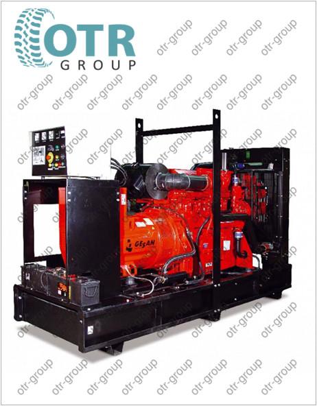 Запчасти на дизельный генератор Gesan DTA 1400E