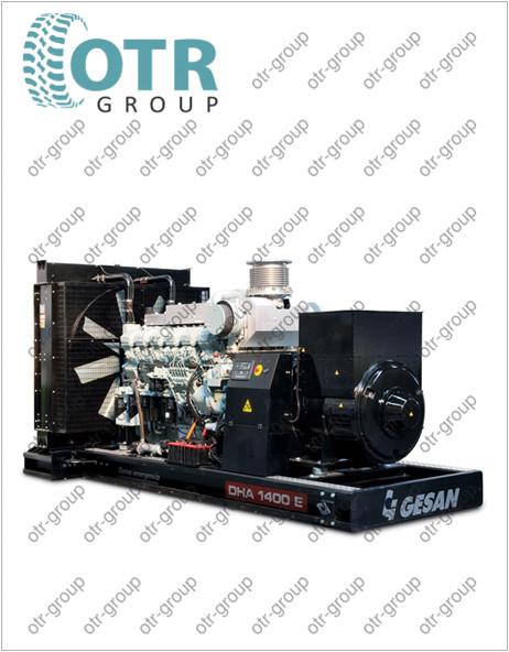 Запчасти на дизельный генератор Gesan DHA 1400 E