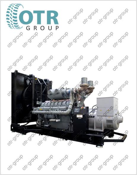 Запчасти на дизельный генератор Gesan DPA 1500E
